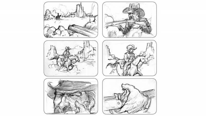 Example of a storyboard