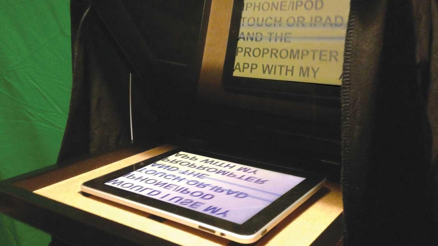 Diy Tablet Teleprompter Videomaker