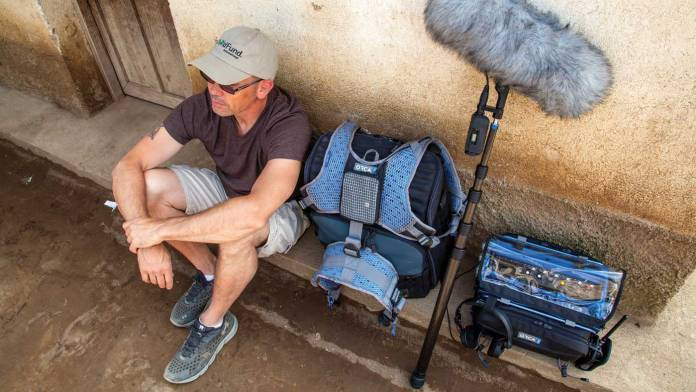 Lugging around the right gear is important for capturing great sound, but sometimes you need to take a break.
