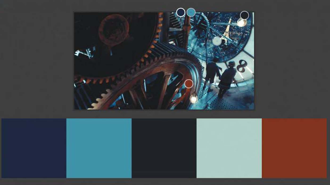"""""""Hugo"""" color theory example"""