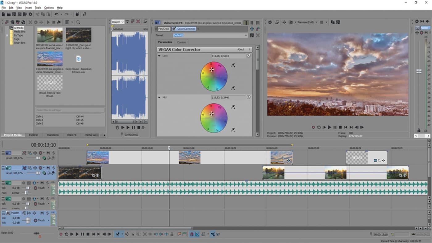 Vegas Pro 14 Review - Videomaker