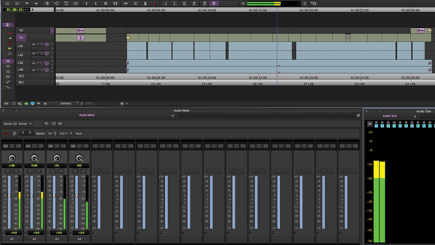 Avid Media Composer's sound design