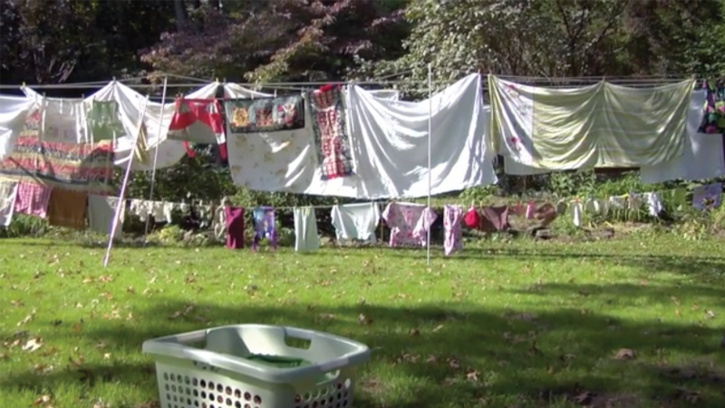 "While the practice of drying laundry might not seem like a compelling topic for a documentary, ""Drying for Freedon"" is able to weave an engaging narrative by digging deep into the history of the clothesline."