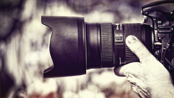 Image stabilization systems are very useful in reducing camera shake when shooting handheld and, with practice, you can learn to achieve smooth tracking shots.