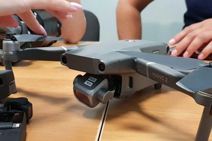 Leaked image of DJI's Mavic 2