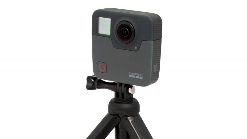 Smaller cameras, like the GoPro Fusion, allow for 360 video cameras to be placed where they never could be before.
