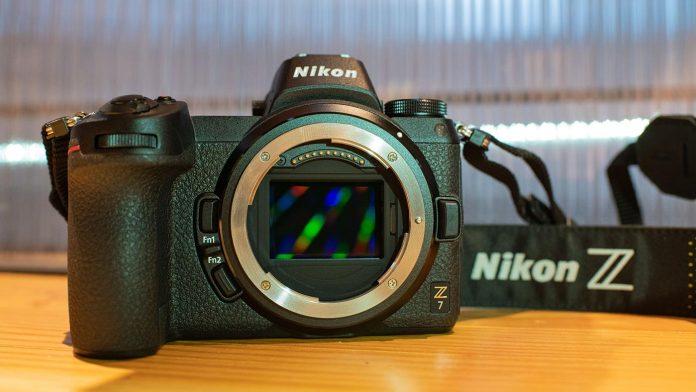 Nikon Z 7 without a lens