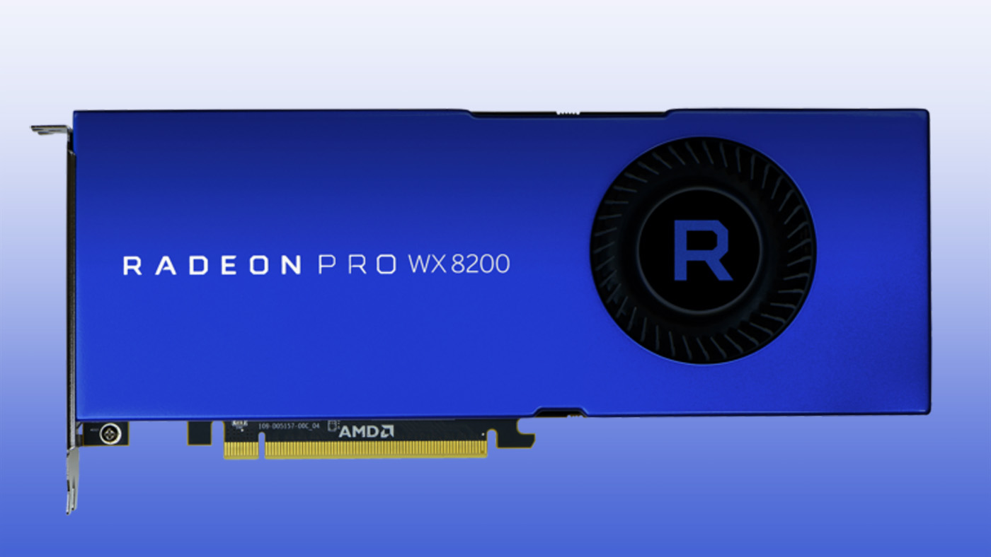 AMD's Pro WX 8200 Graphics Card Can Power Four 4K Displays