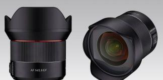 Rokinon AF 14 mm f/2.8 Full Frame Wide Angle lens