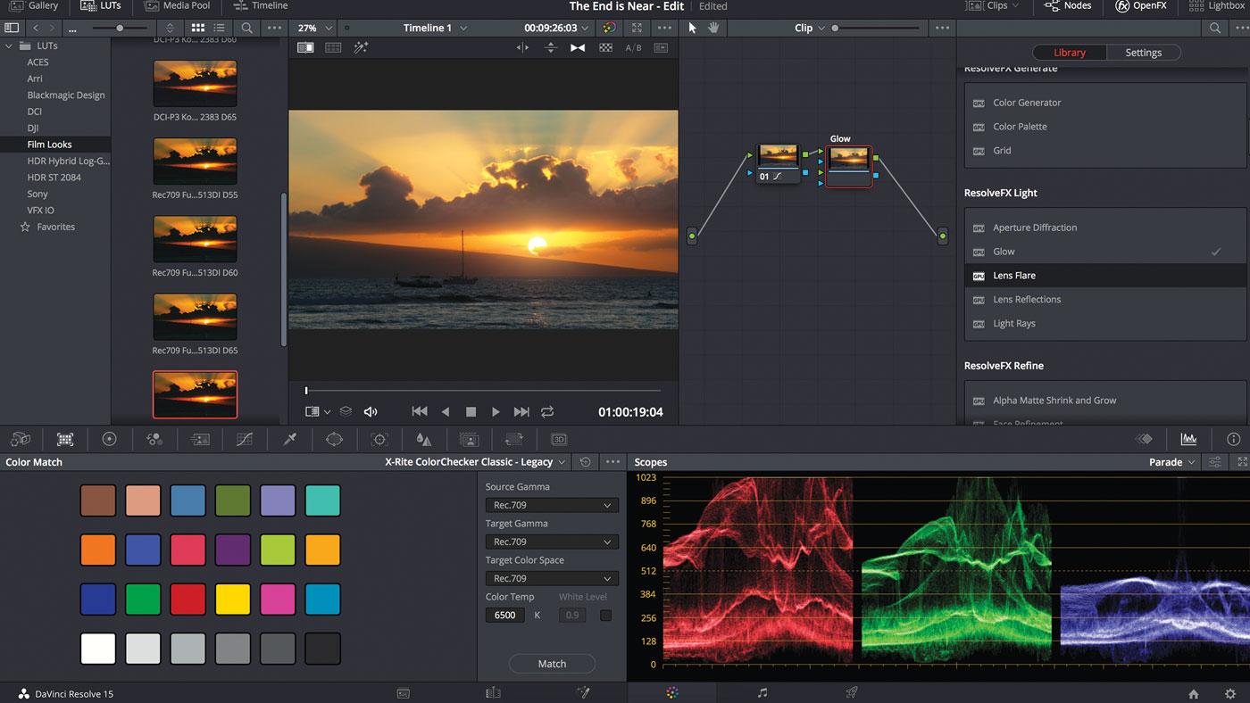 Blackmagic Design Davinci Resolve 15 Review A Complete Set Of Robust Post Production Tools Videomaker