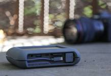 The LaCie DJI Copilot is a portable and rugged drive that you can use to offload your data when you can't get to a computer.
