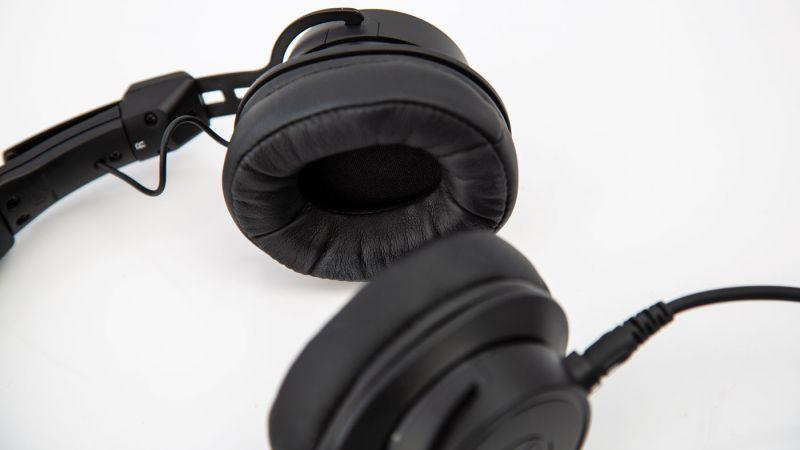 Memory-foam ear pads