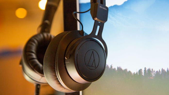 Audio-Technica made a very capable and comfortable set of headphones.