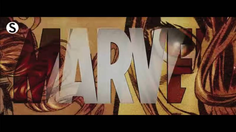 "Imagen de ""Iron Man"" de Marvel Studios que muestra el nombre de Marvel."