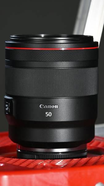 RF 50mm F1.2 L USM lens