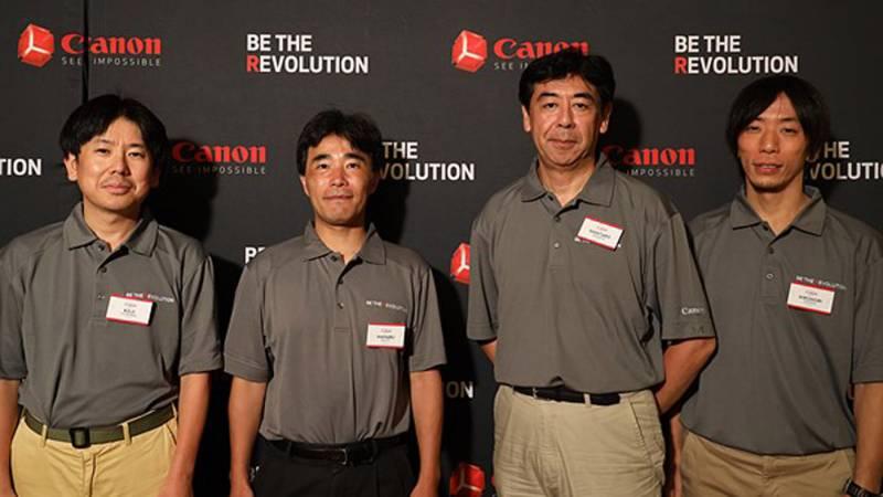 Canon EOS R designers