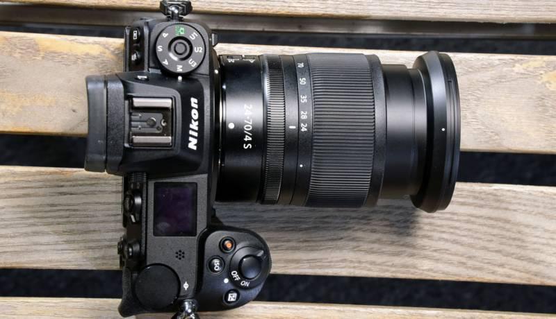 Nikon Z7 with zoom lens