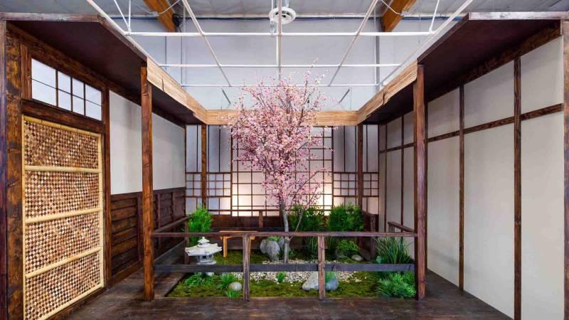 Japan room at Sigma Cine Burbank