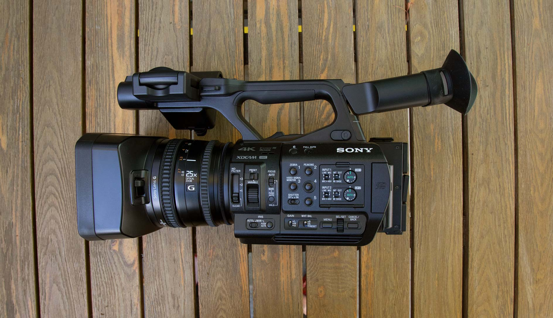 Sony PXW-Z190 Review: All the control you need - Videomaker