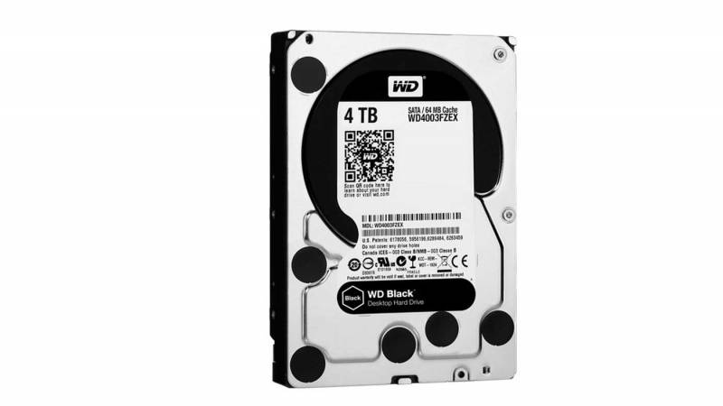 WD Black 4TB Performance Desktop Hard Disk Drive
