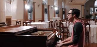 Parker Walbeck music video scene