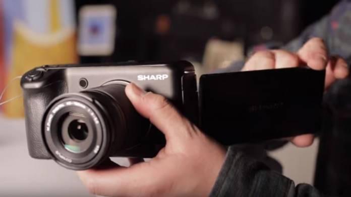 Sharp's '8K Video Camera'