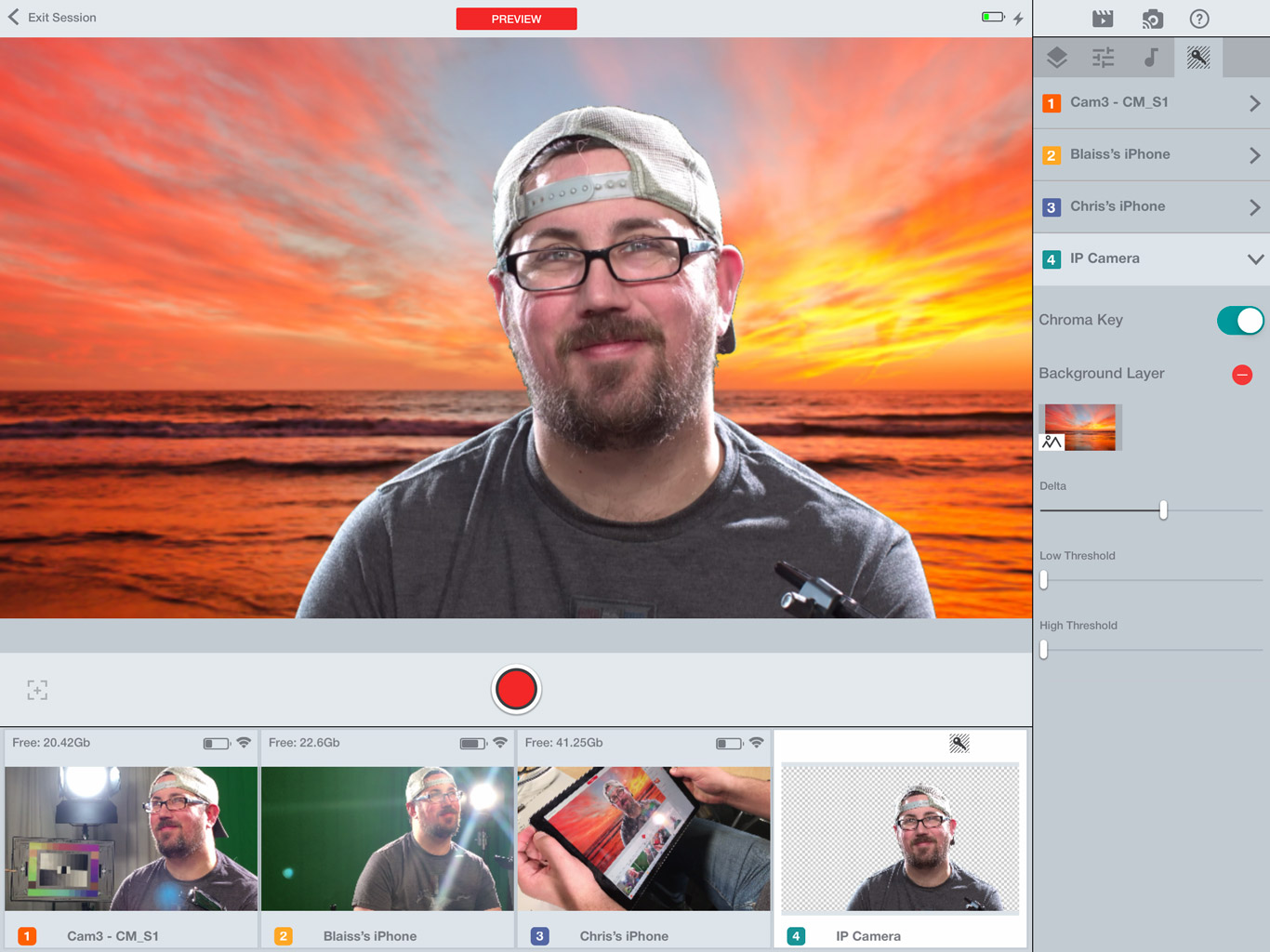Cinamaker review: Live switching and streaming for a great