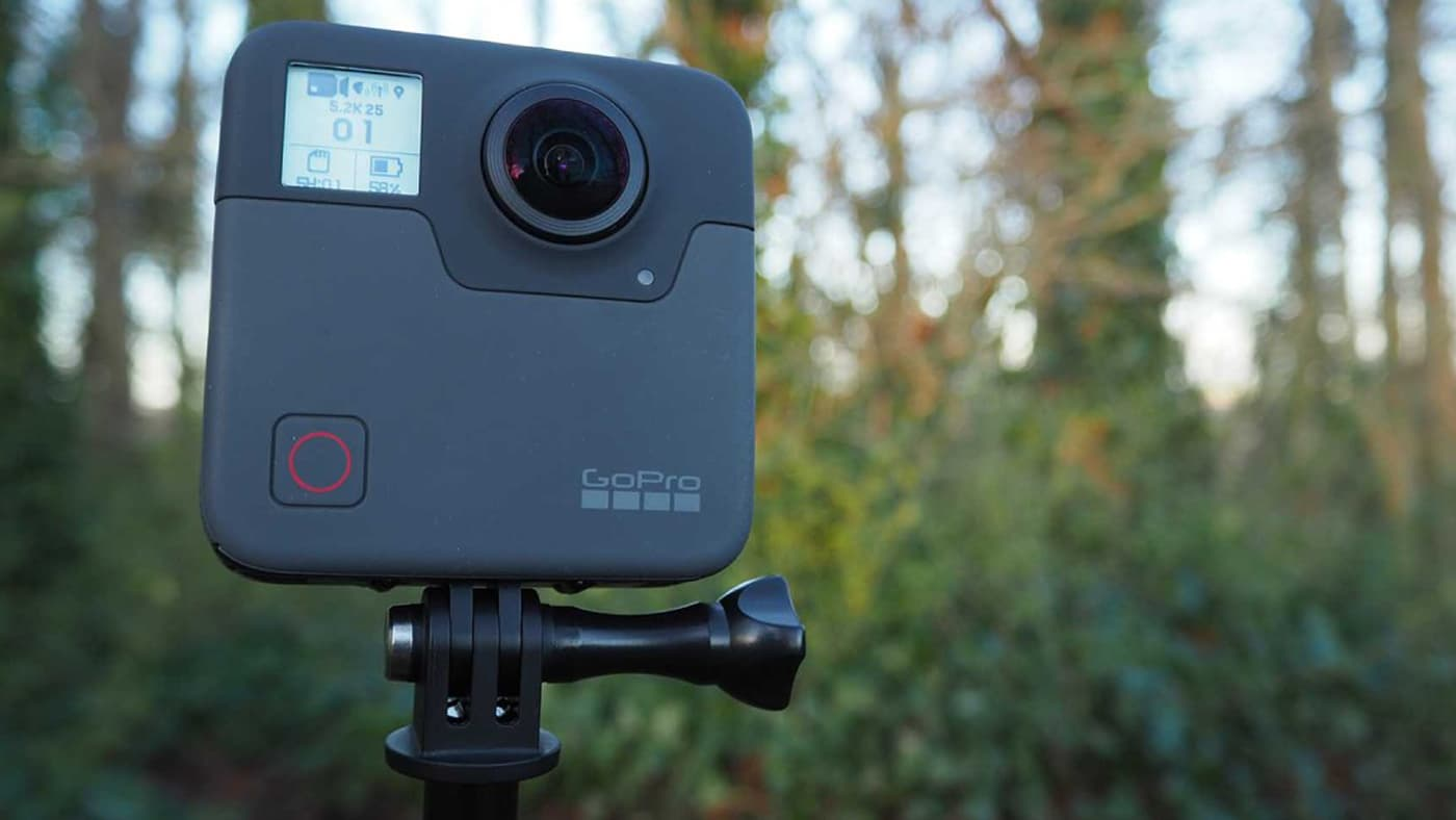GoPro Fusions Firmware v2 0 allows 5 6K video capture at
