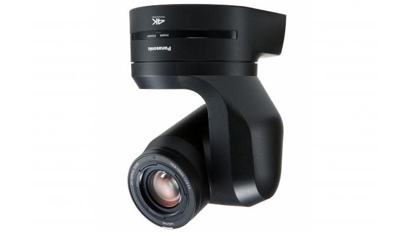 Panasonic UE150 PTZ camera shoots 4K video at a 75 1 degree