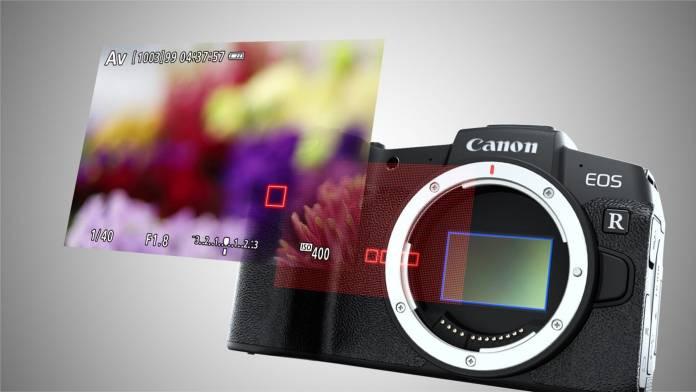 Canon EOS RP illustration