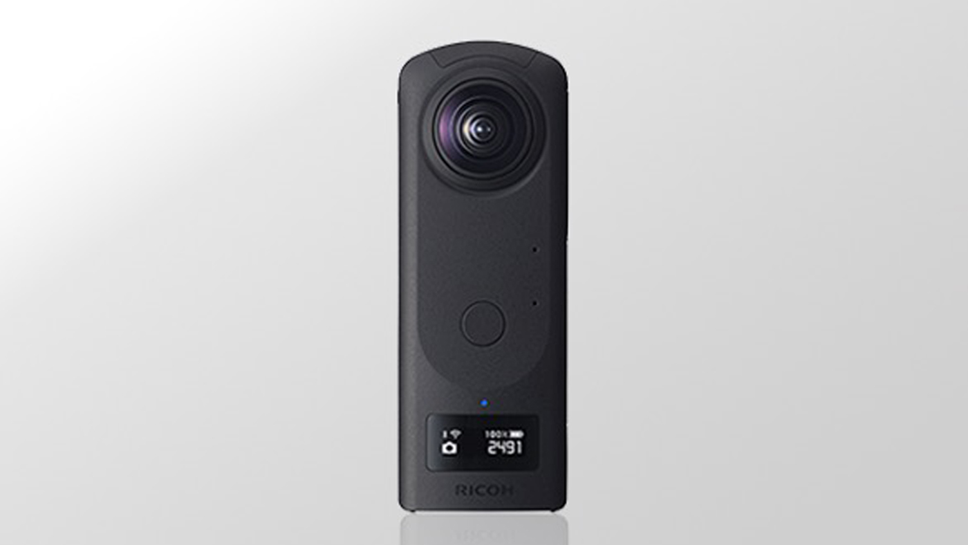 Ricoh Theta Z1 360 camera offers improved image quality and spatial