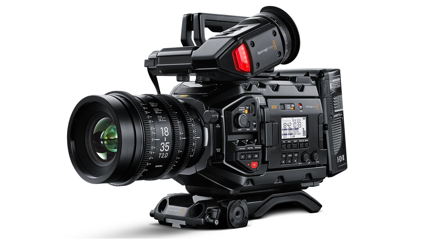 Blackmagic URSA Mini Pro 4.6k G2 NAB 2019