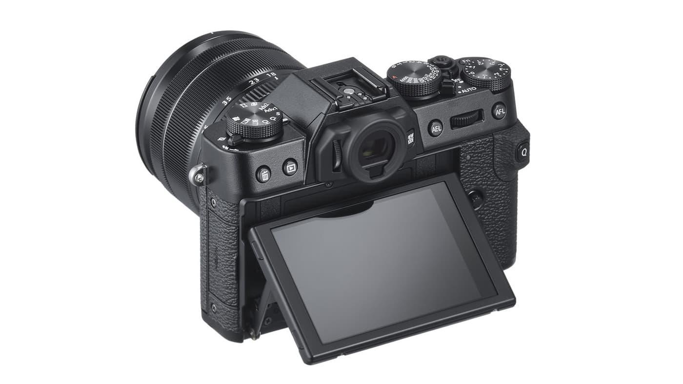 Fujifilm X-T30's back screen