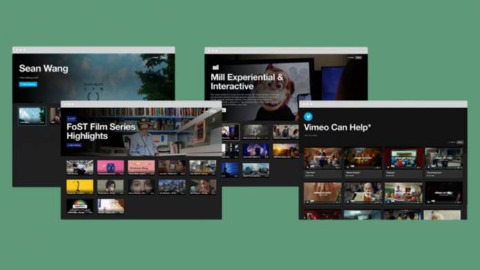 Vimeo reveals Showcase tool to share videos