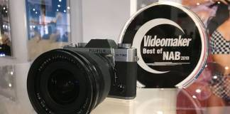 Fujifilm X-T30 with Best of NAB award