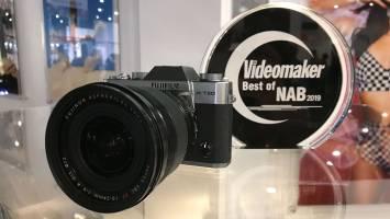 Fujifilm X-T30 with Best of NAB award