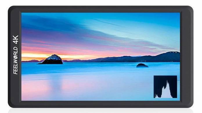 FEELWORLD's F570 monitor looks to be a small, 4K and portable monitor
