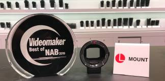 Sigma's MC-21 L-mount converter is this year's best camera accessory at NAB 2019