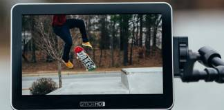 SmallHD FOCUS 7 in use