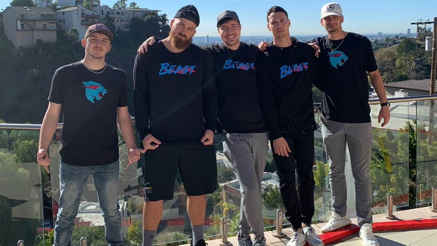 MrBeast and his friends