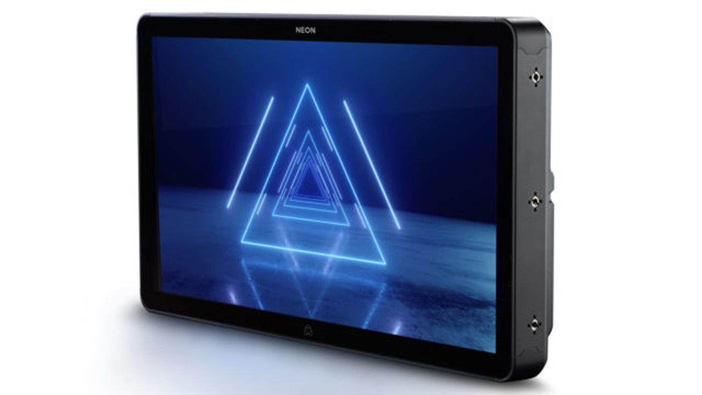 One of Atomos' Neon monitors