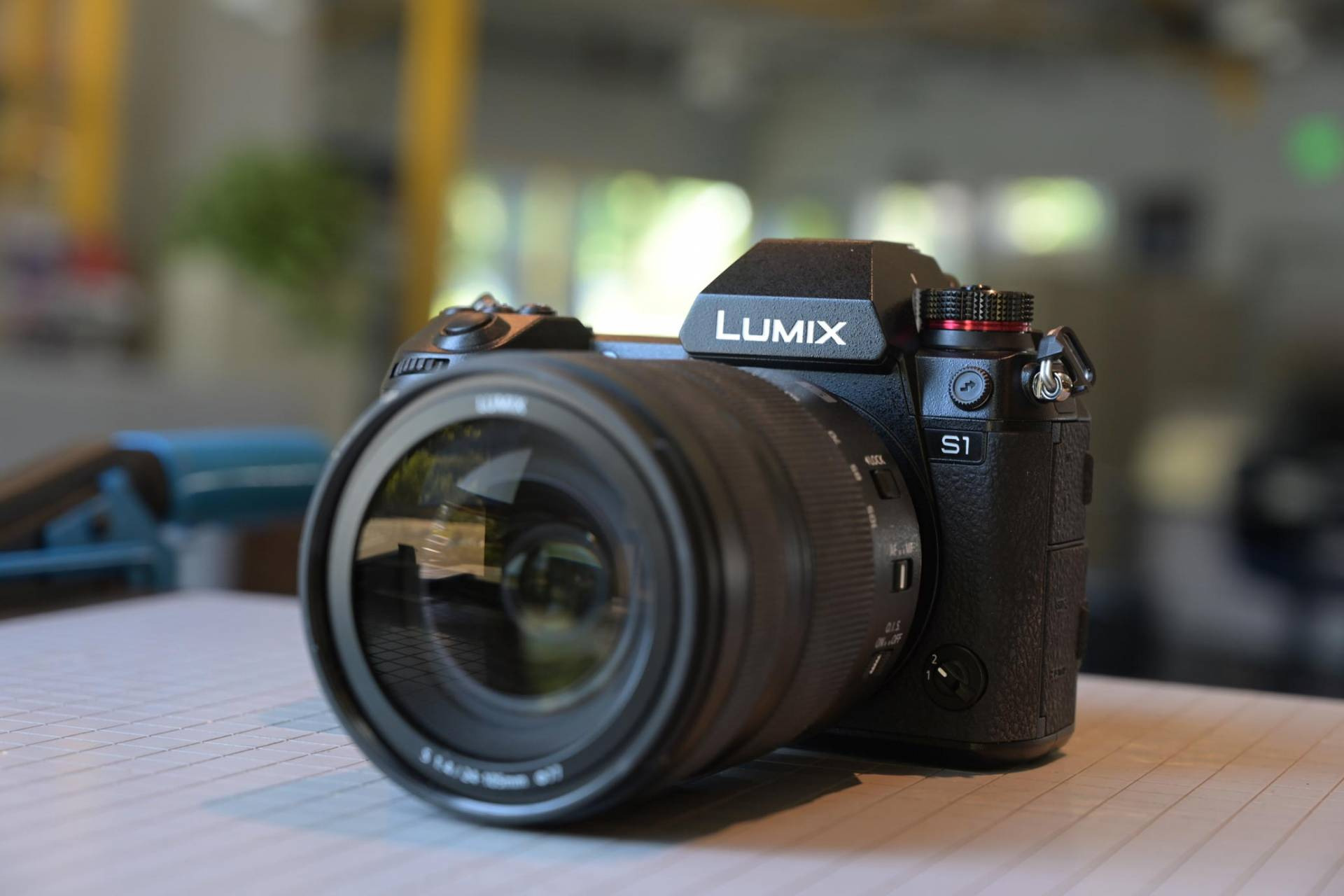 Pansonic Lumix S1 review - front view with lens
