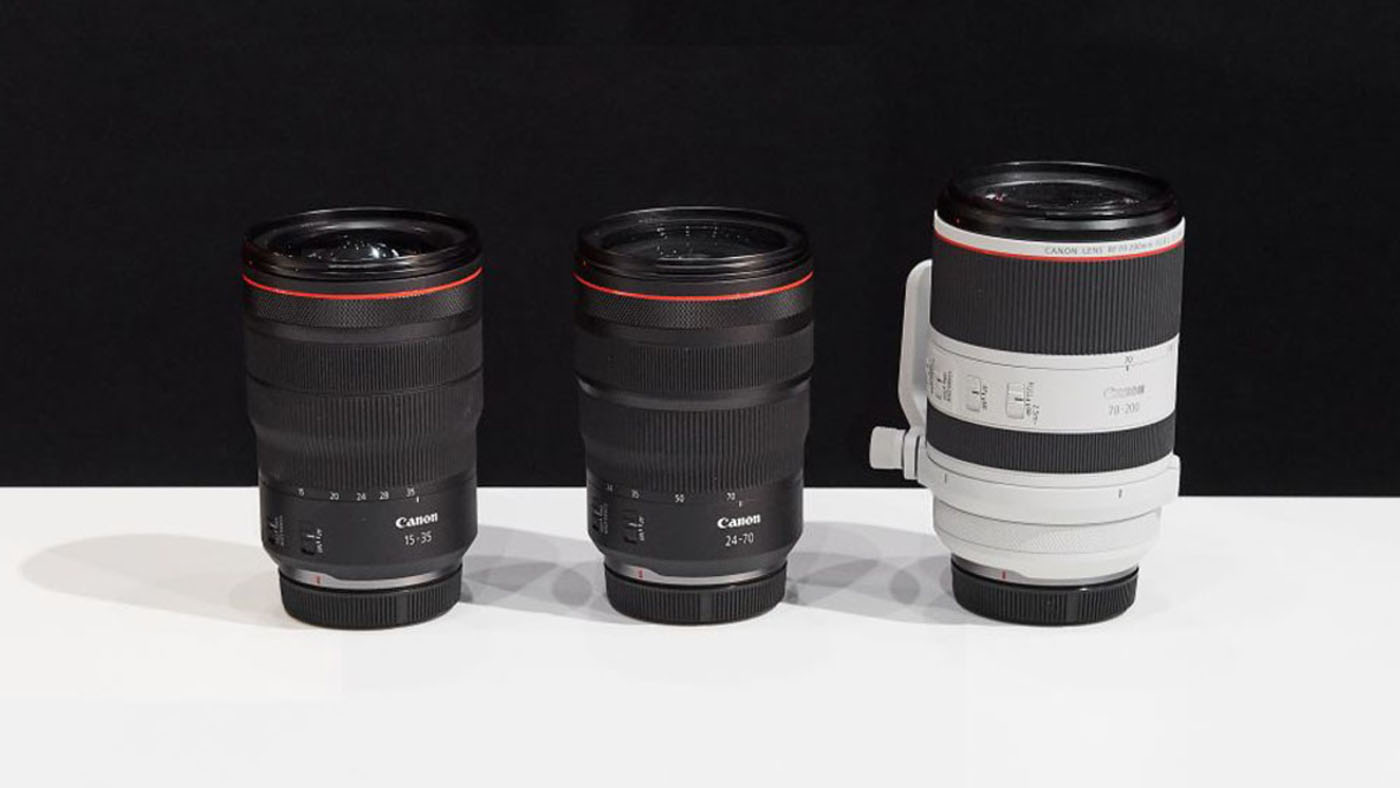 Canon may be releasing 'Holy Trinity' lenses for RF mount - Videomaker