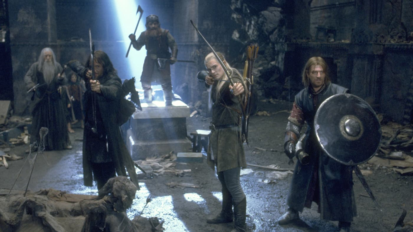 """Lord of the Rings"" screen shot"