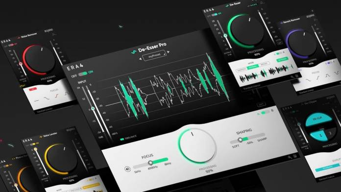 Accusonus brings single-knob audio cleaning and noise reduction technology to its ERA 4 Bundles