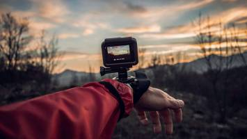 Here are four tips to make the most out of your background in your action camera shoots