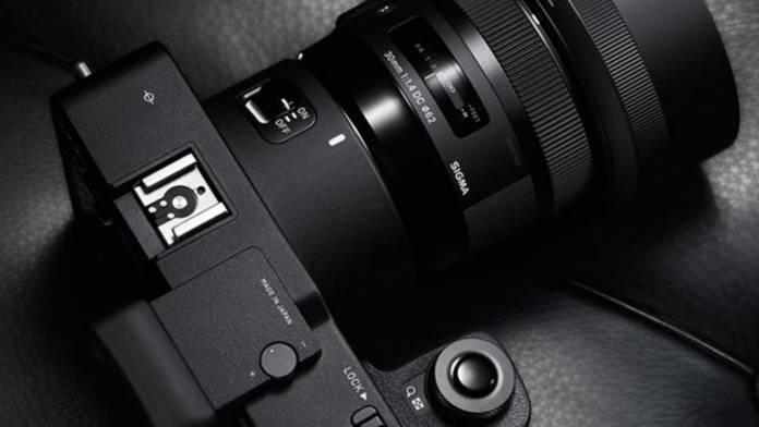 Image symbolizing the new Simga 60-megapixel mirrorless camera