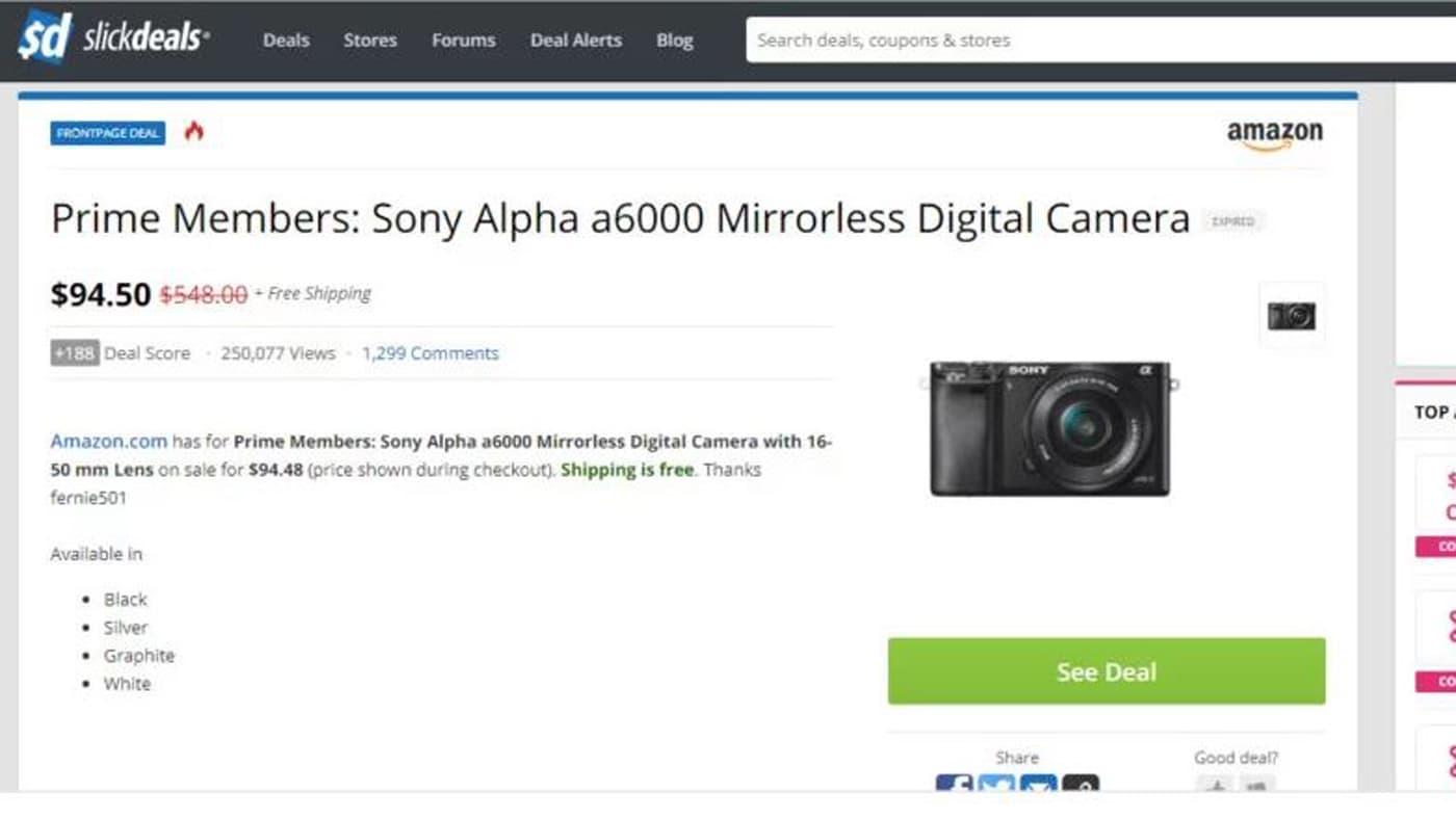 Insane Amazon deals sold Sony a9 cameras and other pro gear for $95