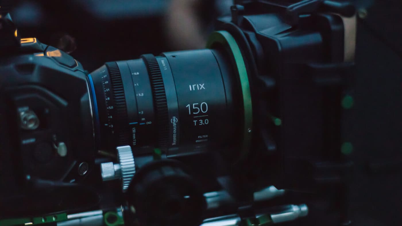 Irix's Cine 150mm T3.0 Macro 1:1 uses a Magnetic Mount system for enabling accessory swapping