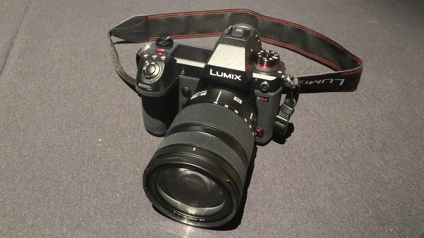 Panasonic's Lumix S1H